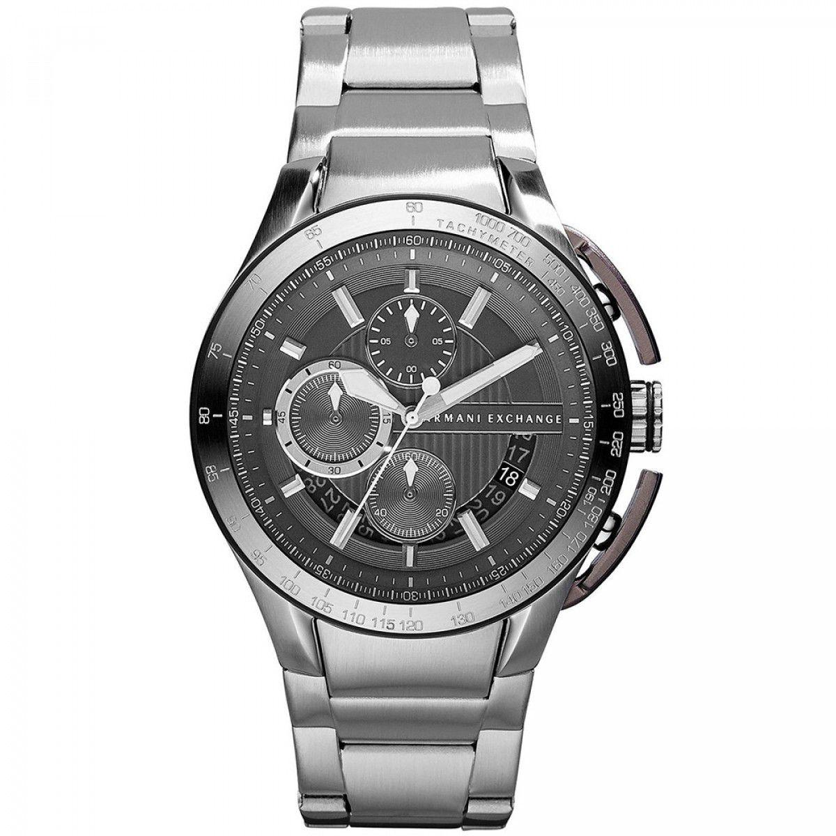 Relógio Armani Exchange Masculino AX1403/1PN Prata