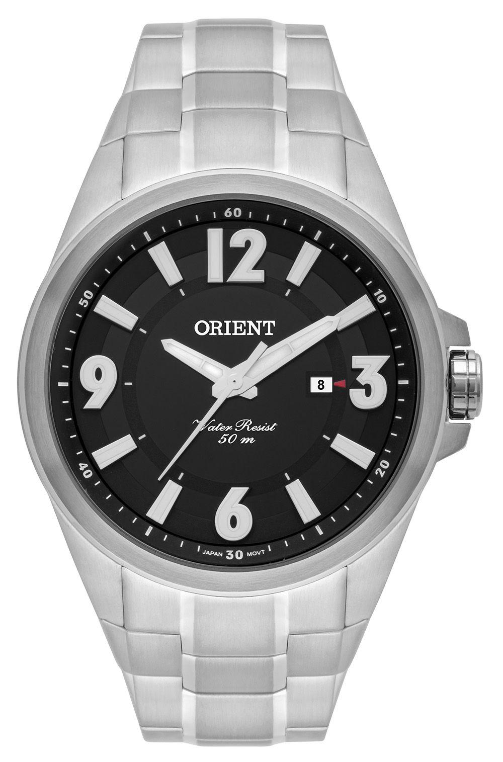 Relógio Masculino Casual Prata MBSS1283-P2SX Orient
