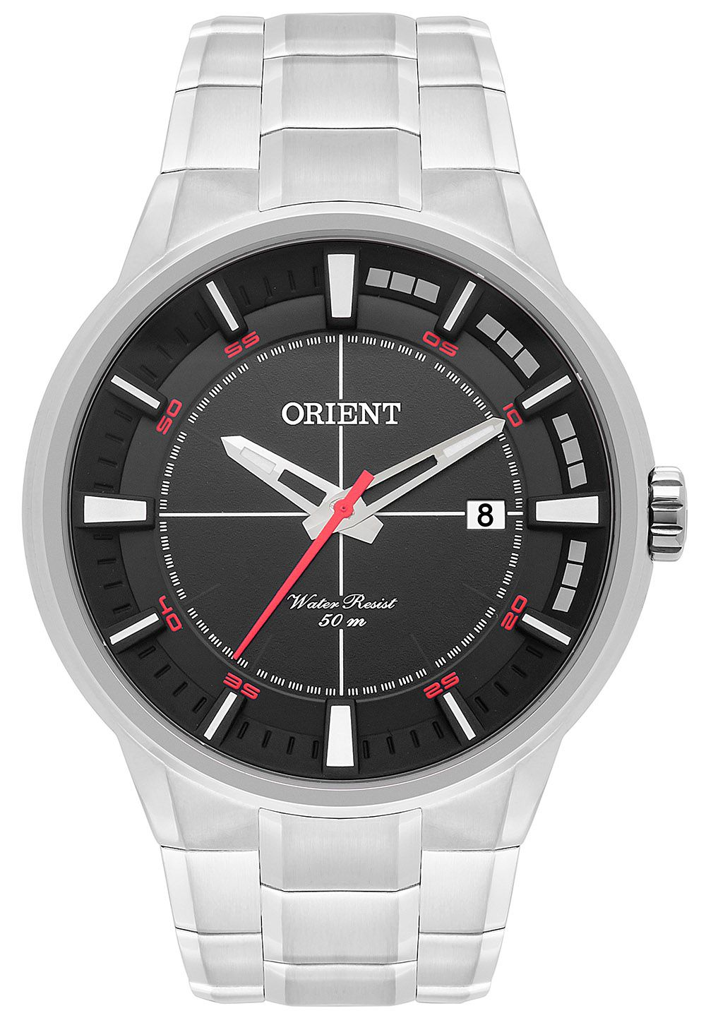 Relógio Masculino Casual Prata MBSS1308-P2SX Orient
