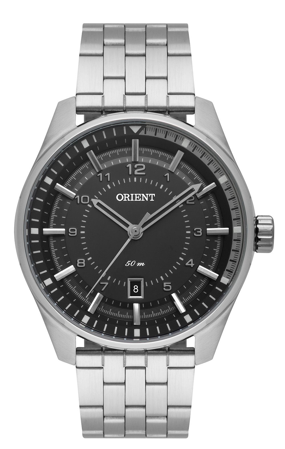 Relógio Masculino Casual Prata MBSS1330-PISX Orient
