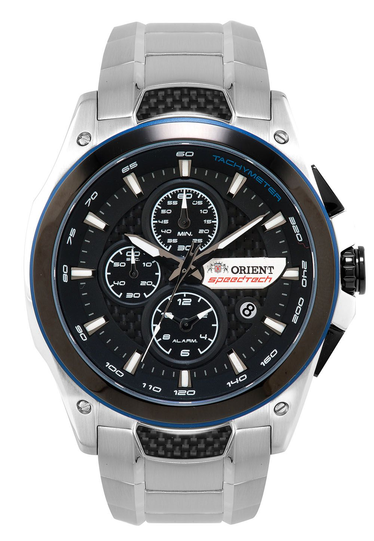 Relógio Masculino Orient MBSSC112-P1SX Prata