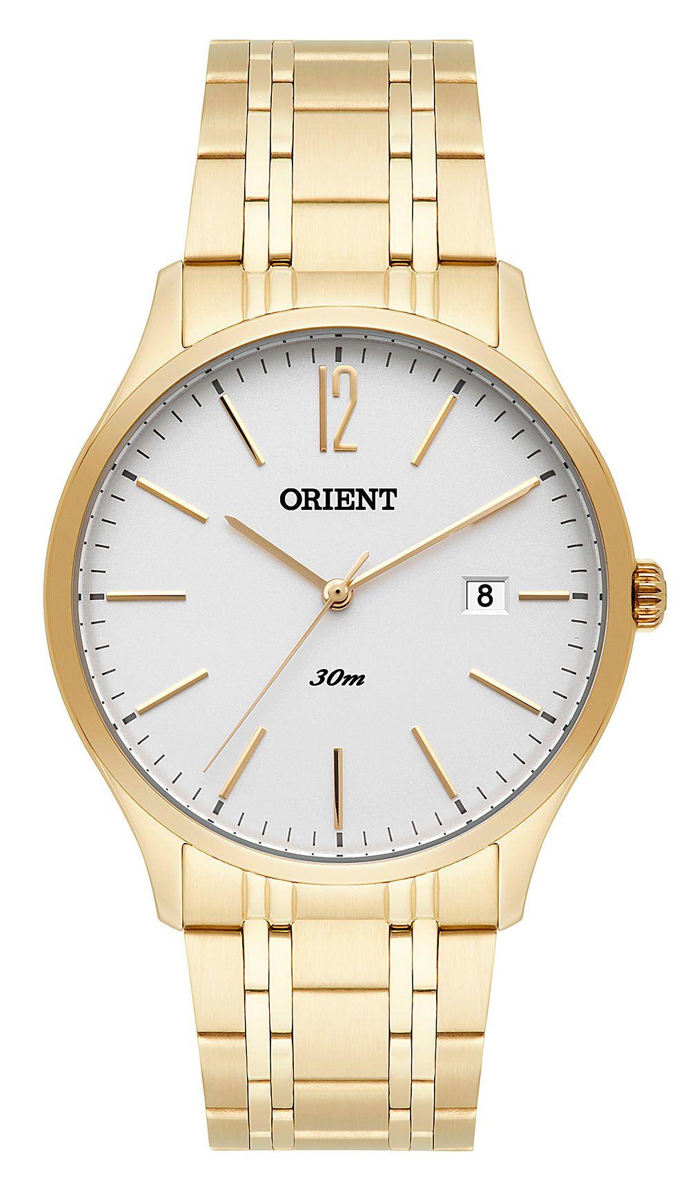 Relógio Masculino Orient MGSS1138-S2KX Dourado