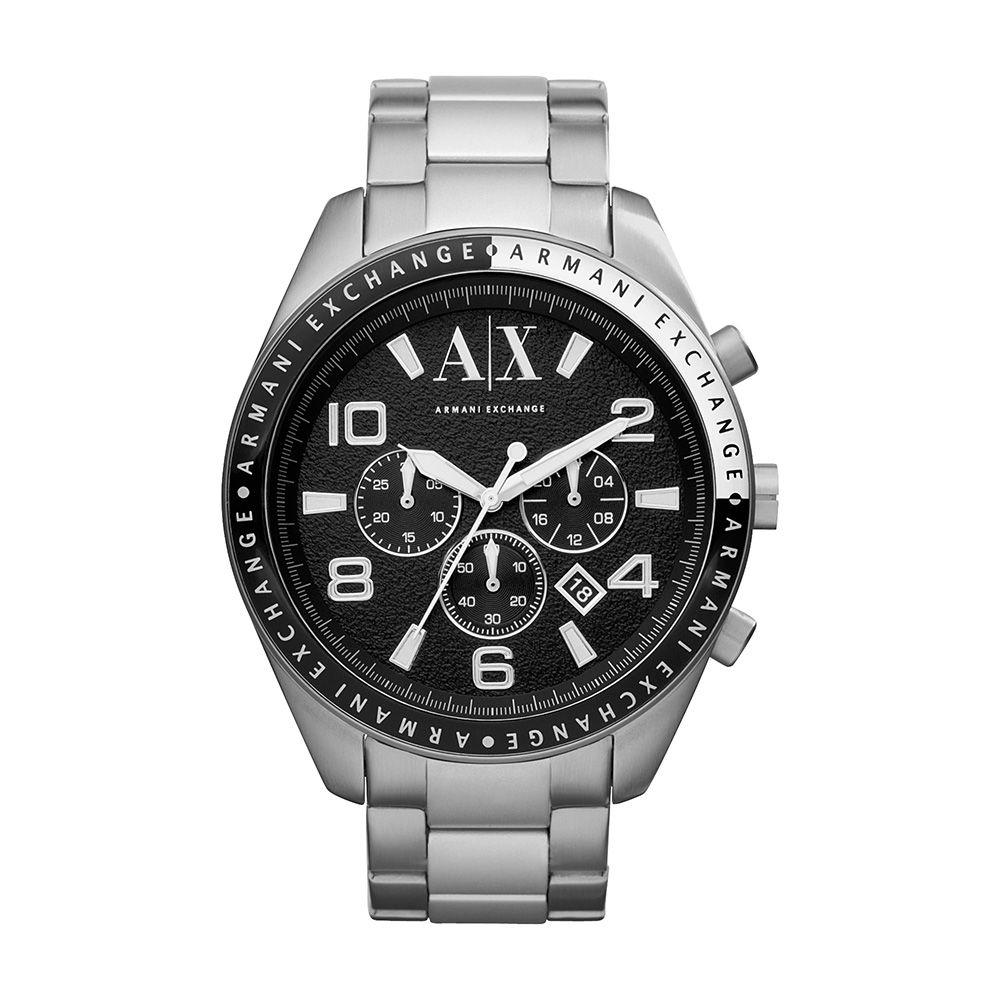 Relógio Armani Exchange Masculino UAX1254Z Prata
