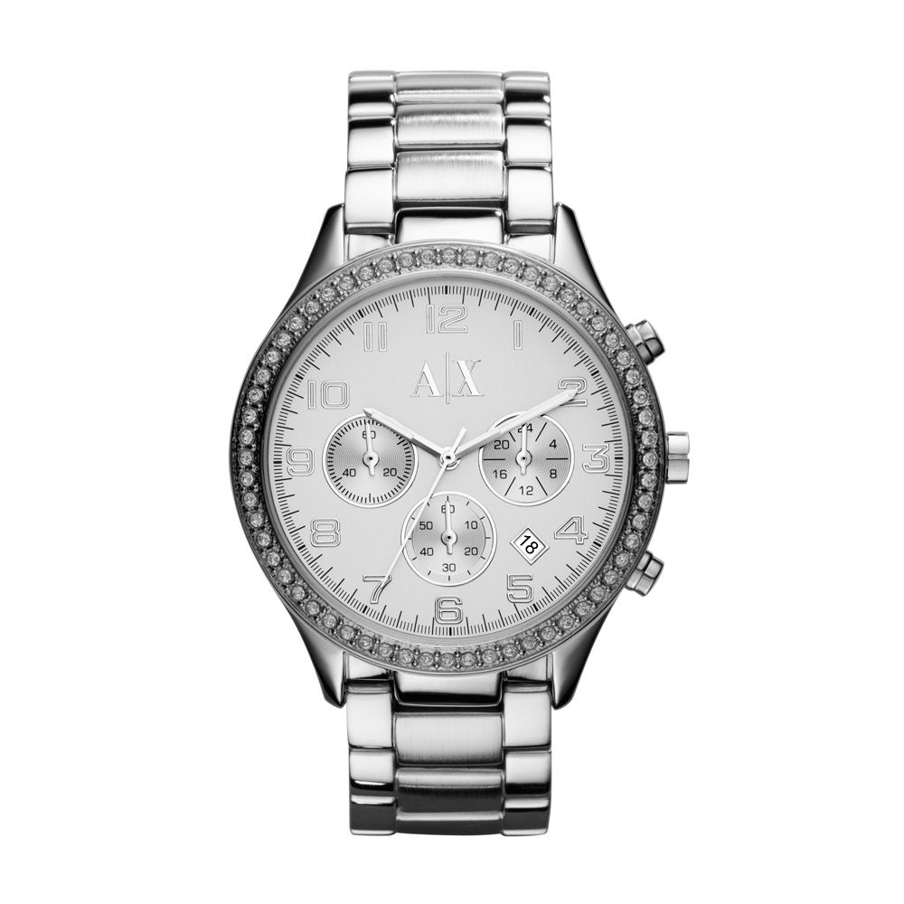 52adb2af98cd3 Relógio Armani Exchange Masculino UAX5109N Prata - PATRICIA JOIAS