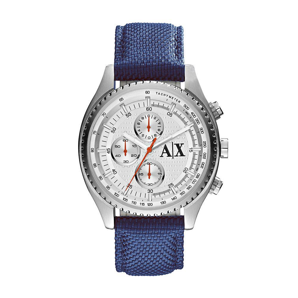 ec693758d1b Relógio Armani Exchange Masculino AX16098AN Prata - PATRICIA JOIAS