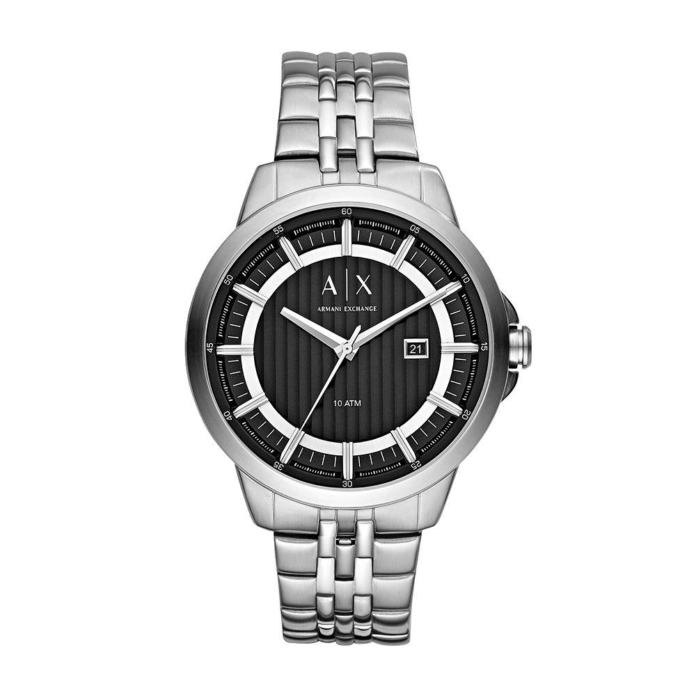dbfabf6c4e007 Relógio Armani Exchange Masculino AX22603PN Prateado - PATRICIA JOIAS