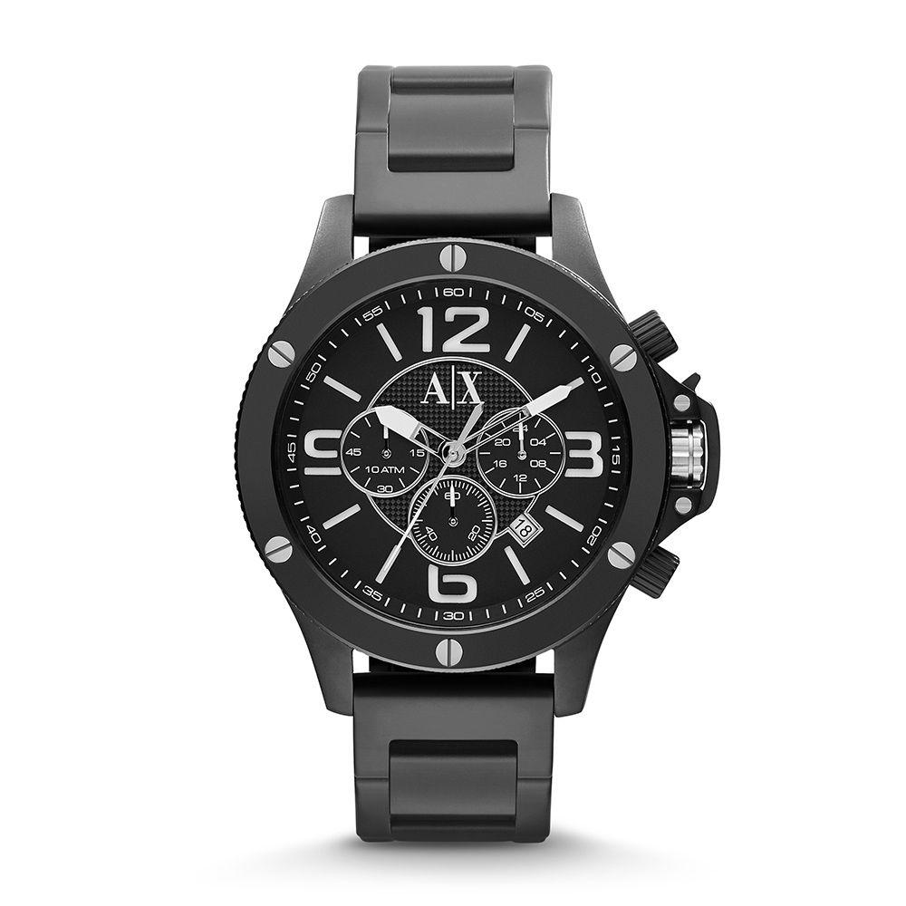 42f34e6a85c Relógio Armani Exchange Masculino AX1503 1PN Preto - PATRICIA JOIAS