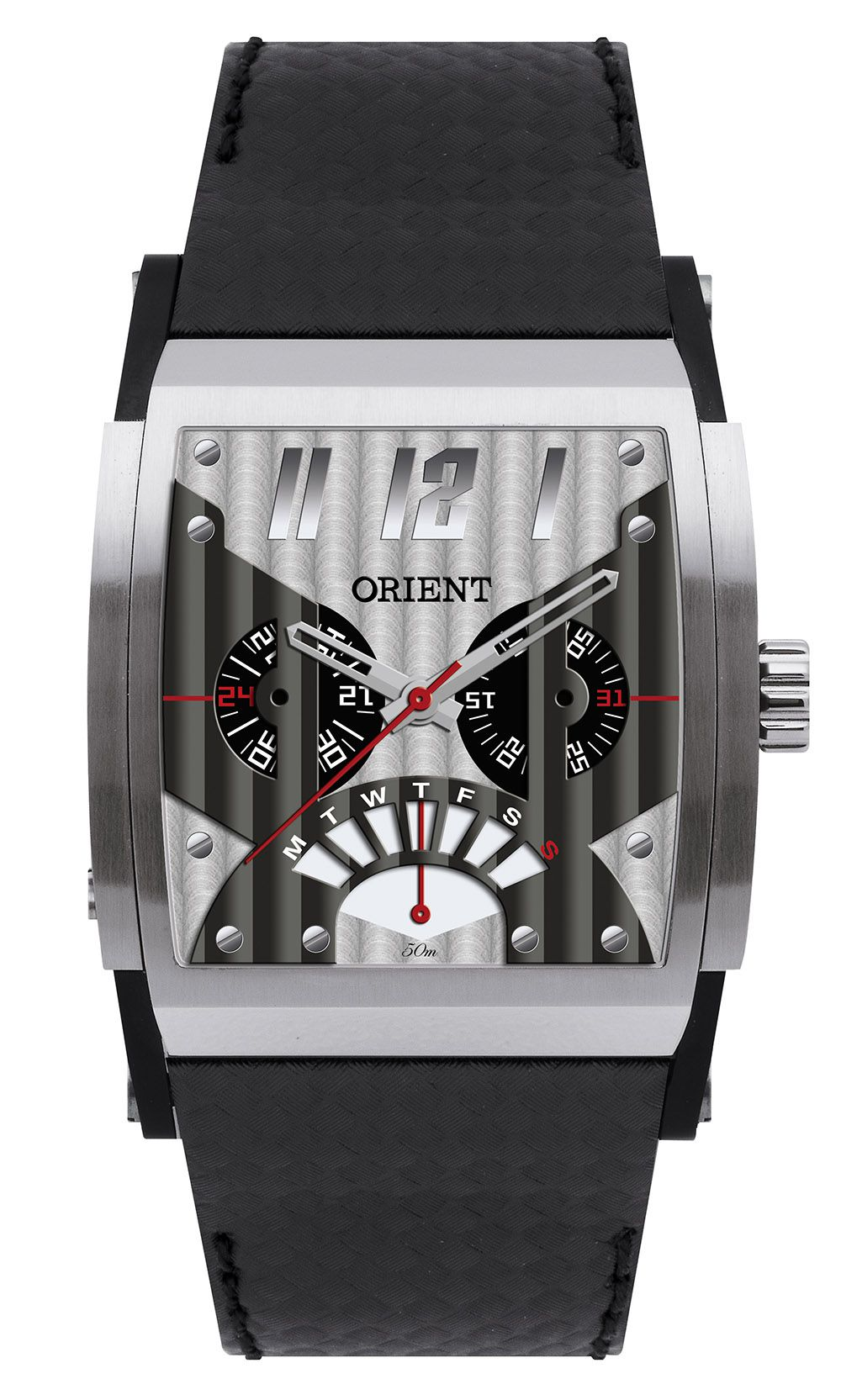 Relógio Masculino Casual Preto GTSCM001 Orient