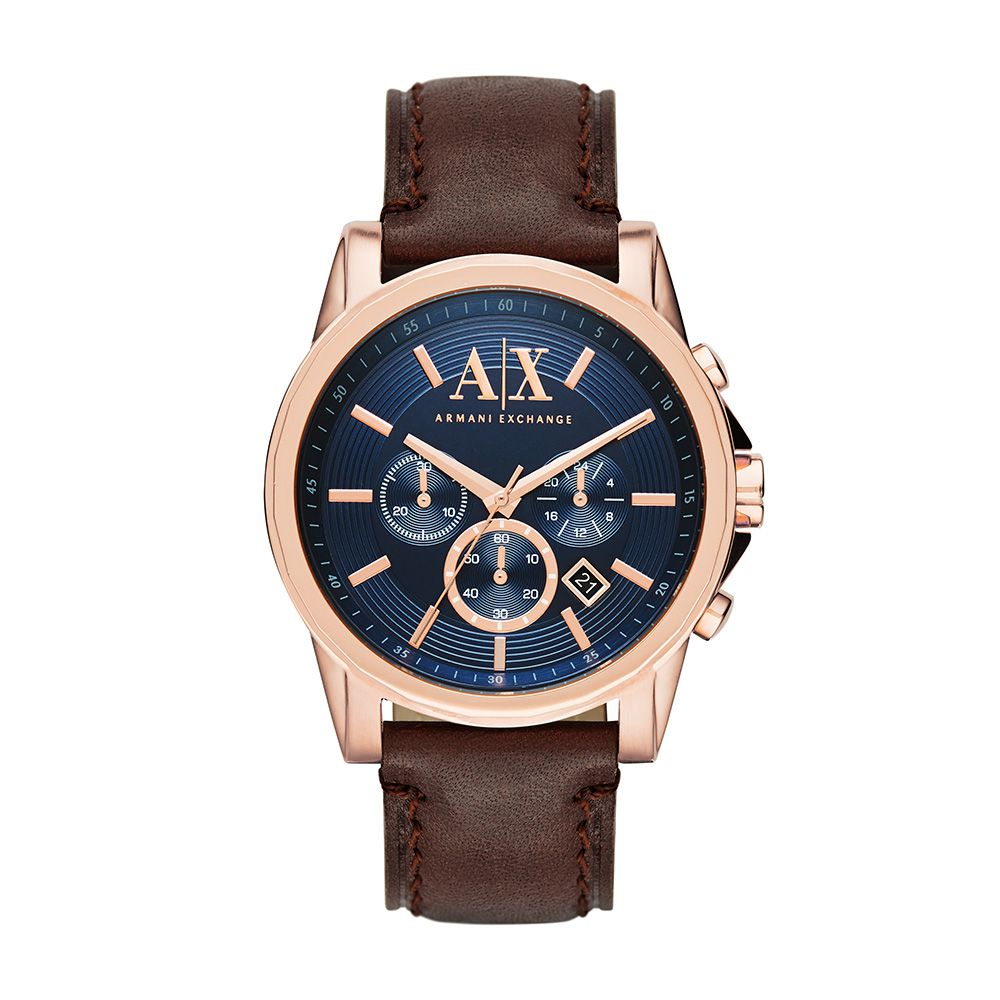 Relógio Armani Exchange Masculino AX2508OAN Rosê