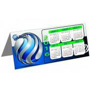 Calendário de Mesa Personalizado Revestido (modelo 022)
