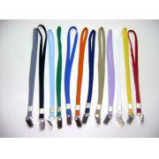 Cordões Coloridos para Crachás Largura 15 mm (25 peças)