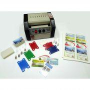 Kit Completo para Confecção de Crachás Similar ao PVC