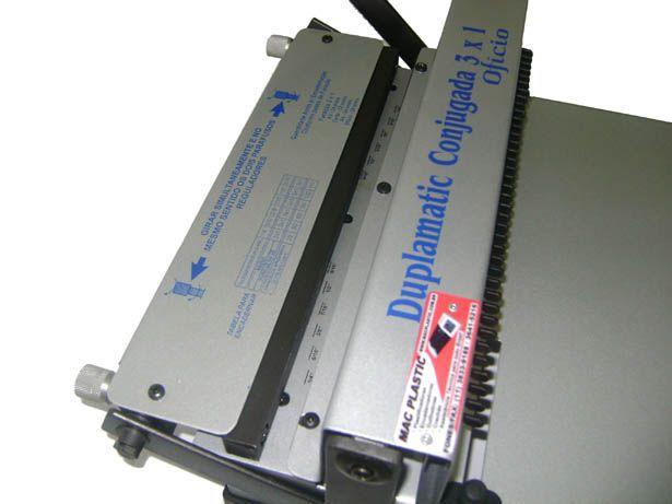 Encadernadora Wire-o (Passo 3x1) Encaderne de 5 a 110 folhas