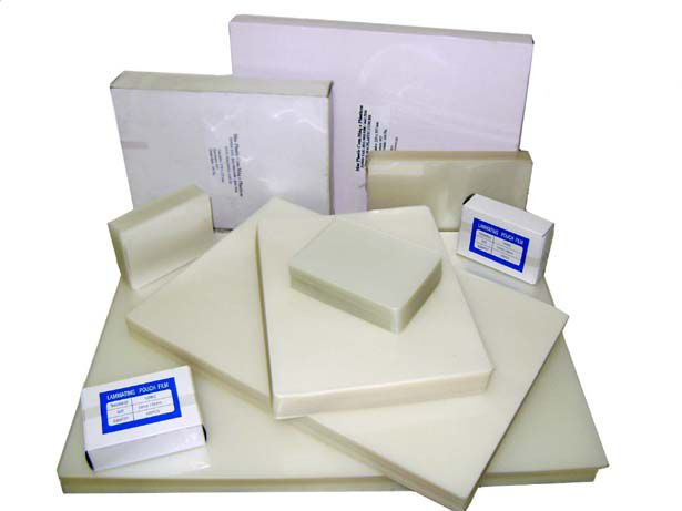 e) Polaseal 80 x 110 mm Espessura 005 (100 folhas)