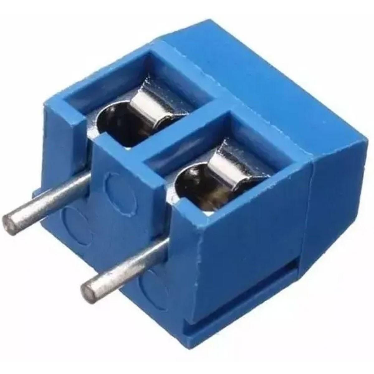 1000x Conector Borne KRE Kf301 2 Vias c/ Parafuso