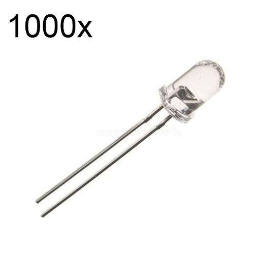 1000x Led Infravermelho Sensor Emissor 5mm