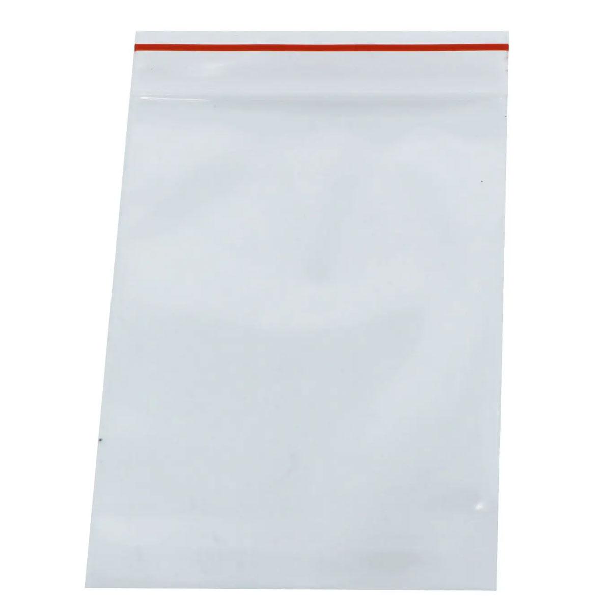 100 x Saco Plástico Zip Lock Hermético 34 x 24 cm Nº 10