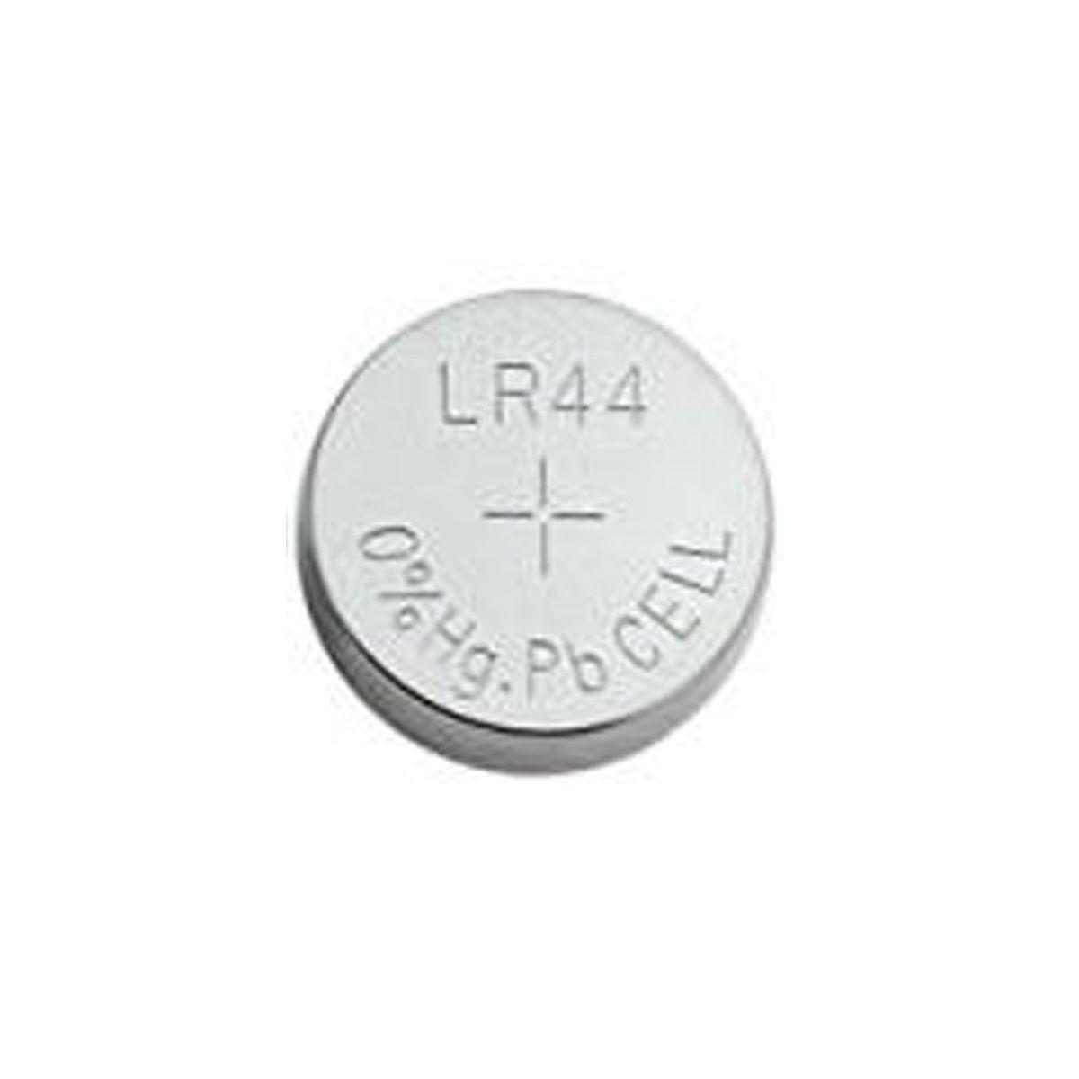 100x Bateria Alcalina 1,5V LR44/A76/AG13 para Higrômetro