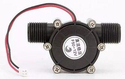 Mini Gerador de Fluxo de Água Hidro Turbina 12v 10w