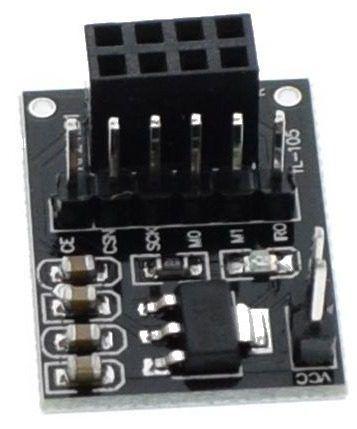 Módulo Adaptador Alimentação para Nrf24l01 Yl-105 8 Pinos 5v