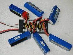 Placa XT60 Carregamento Paralelo 6 Baterias Lipo Turnigy Xt