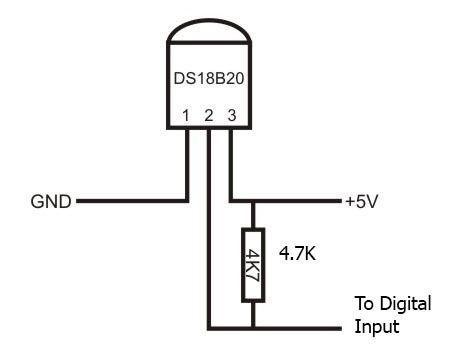 Sensor de Temperatura CI DS18b20 18B20