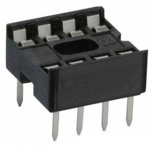 3x Adaptador Soquete DIP 8 Pinos Socket CI Attiny 85