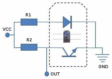 10x Sensor Refletivo IR TCRT5000