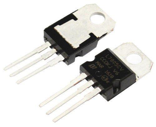 3x CI Regulador de Tensão 7805 | Regula para 5v até 1A