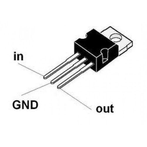 3x CI Regulador de Tensão 7812 | Regula para 12v até 1A