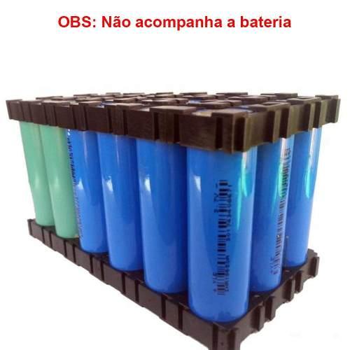 10 Pares - Suporte para Armazenamento de Bateria 18650