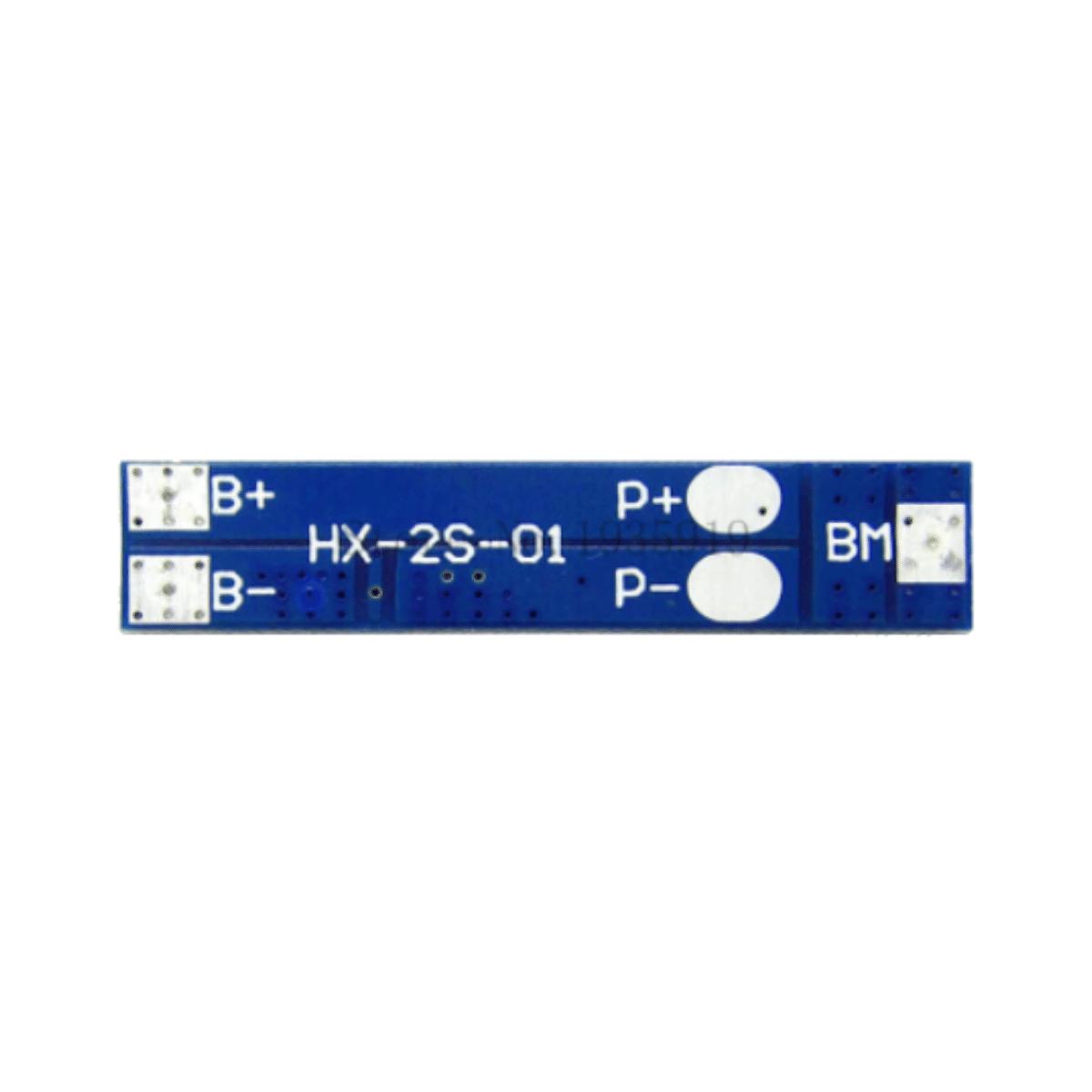 10x Carregador de Bateria Litio 2S Lipo 7A c/ Proteção de Carga e Descarga BMS