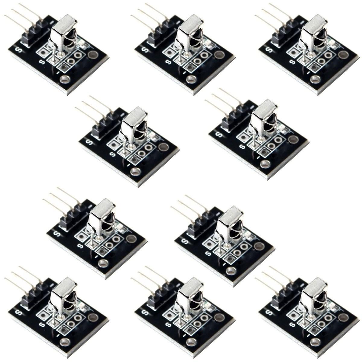 10x Módulo Sensor Receptor Infravermelho Ky-022