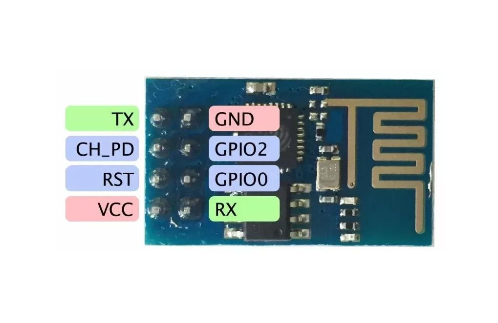 10x Placa Esp8266 Esp-01 Wifi 802.11 B/g/n Esp 01