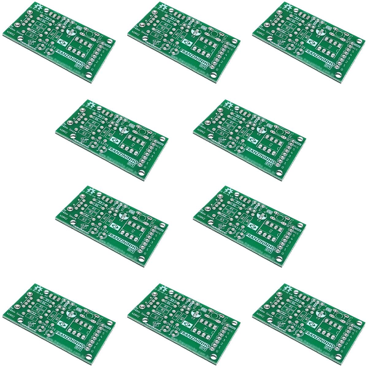 10x Placas Franzininho SEM os componentes