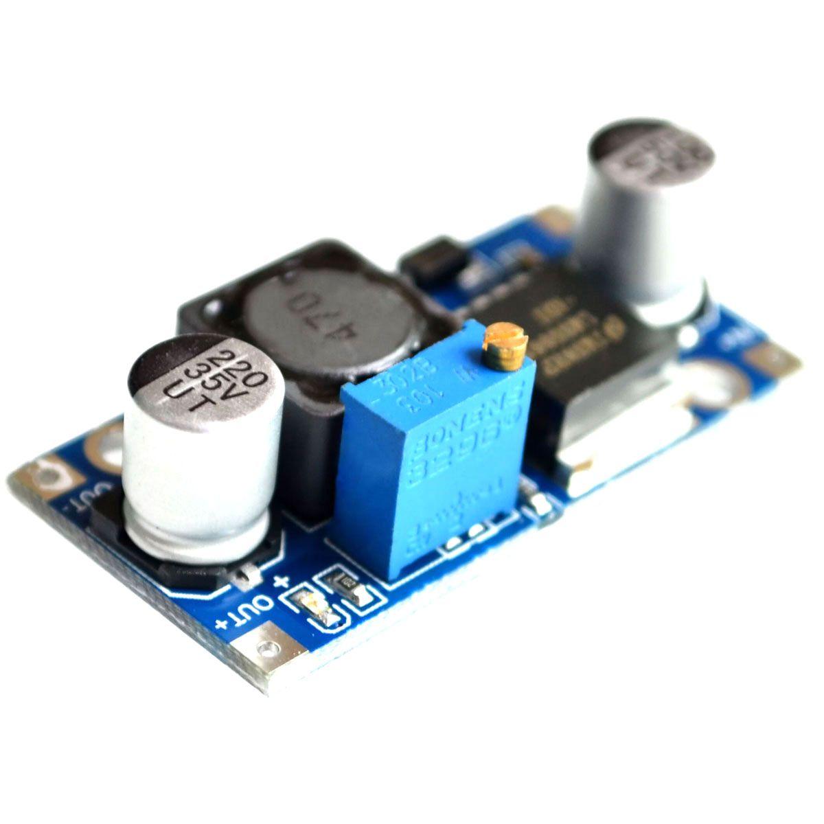 10x Regulador de Tensão Step Down Buck Conversor Dc Dc Lm2596 3a