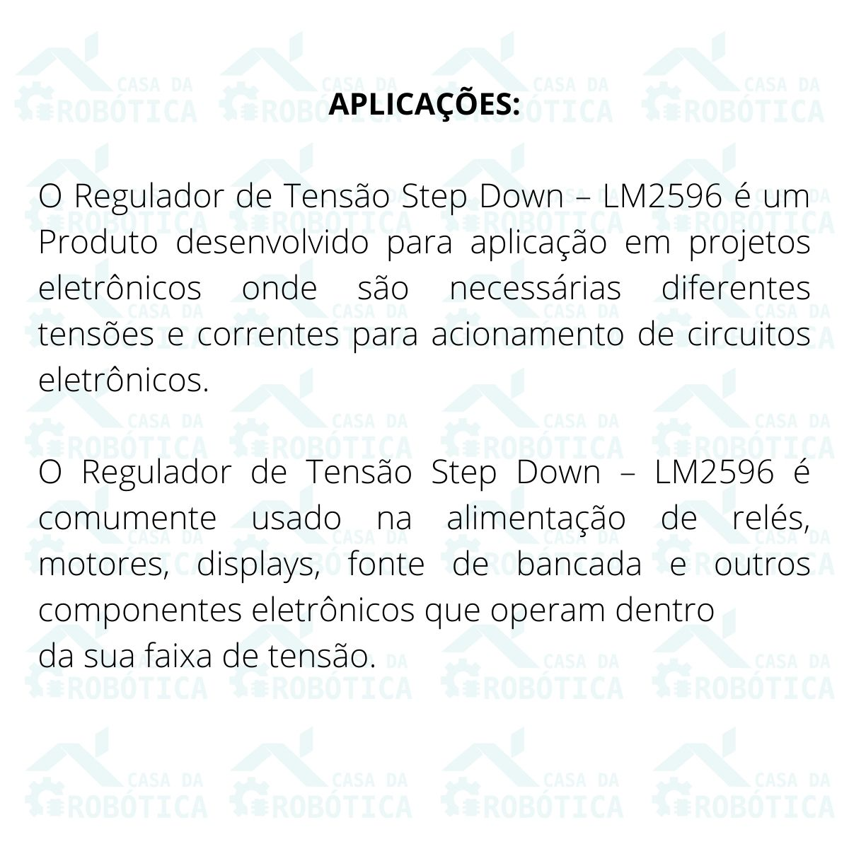 10x Regulador de Tensão Step Down Buck Conversor Dc Dc Lm2596 3a