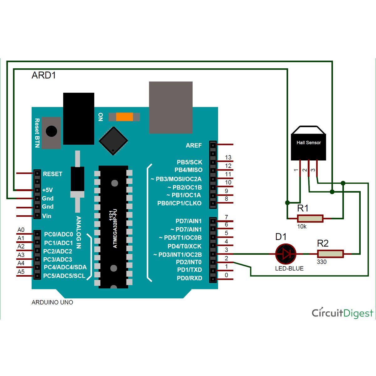 10x Sensor de Efeito Hall 3144