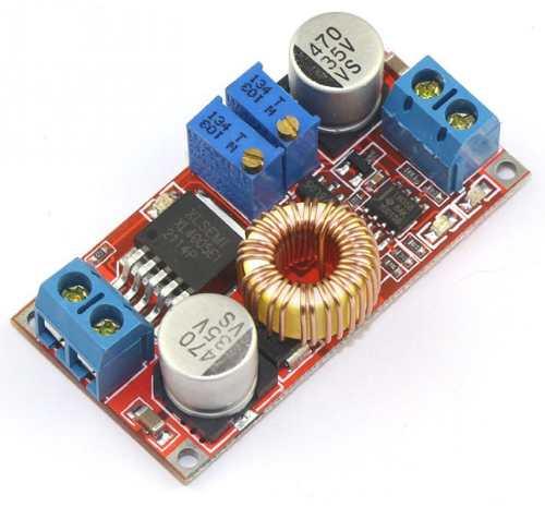 Regulador com Ajuste de Corrente e Tensão Xl4015 5A DC DC