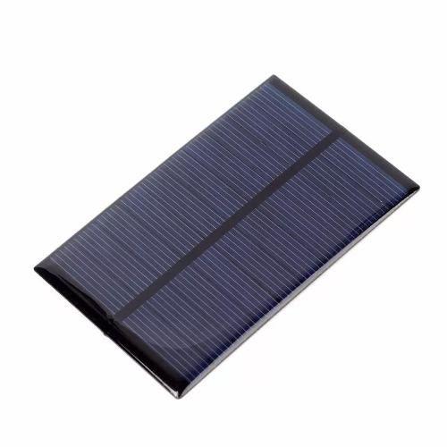 Painel / Placa / Célula de Energia Solar Fotovoltaica 5V 240mA 1.2W
