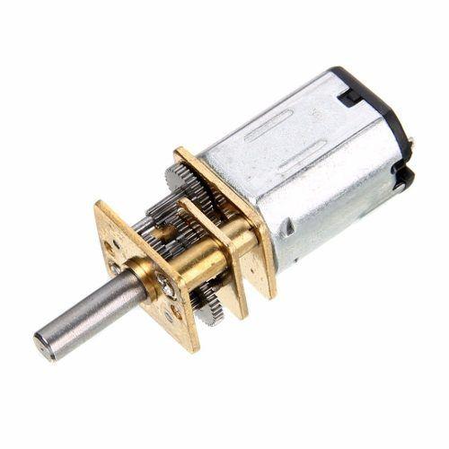Mini Motor DC N20 com Caixa de Redução,  6v 200 RPM