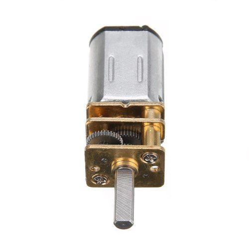Mini Motor N20 6v 200 RPM Caixa de Redução de Metal