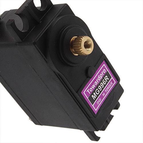 Servo Motor Digital 360° Graus Mg996r 11kg Alto Torque Engrenagem de Metal