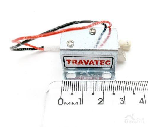 Mini Fechadura / Trava Elétrica 12v para Armários / Gavetas
