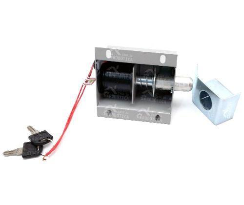 Trava Eletromagnética 220VAC para Portão Automático - Trava-Tec