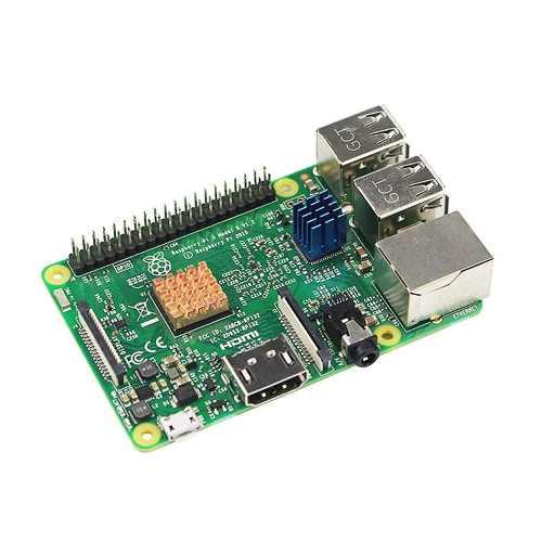 Kit 3 Dissipadores para Raspberry Pi , Pi 2, Pi 3 , B, B+