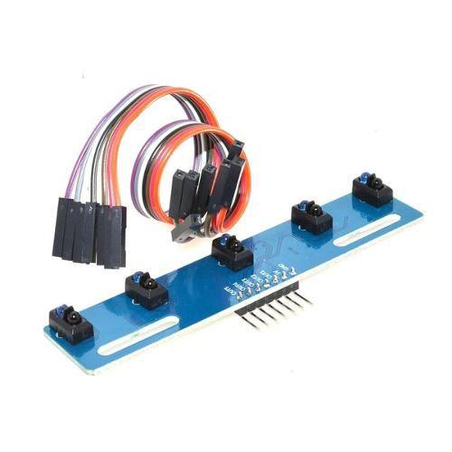 Módulo Sensor IR 5 Canais para Robô Seguidor De Linha | Array de Sensores