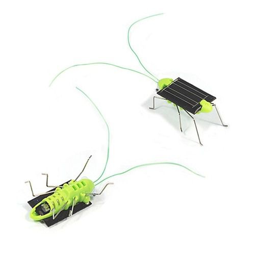 Barata / Gafanhoto / Inseto Movido a Energia Solar | Robô Solar