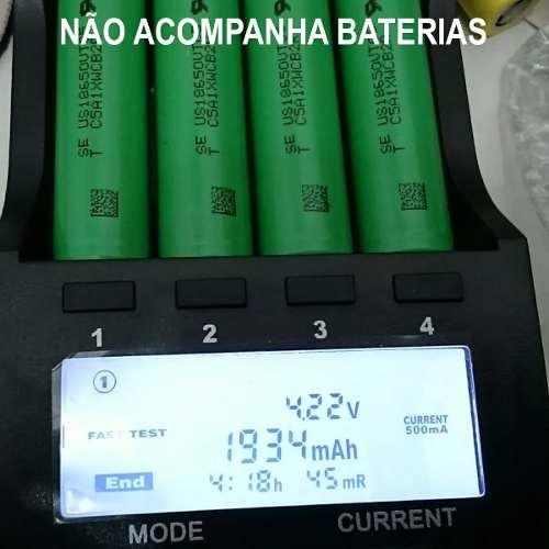 Carregador Inteligente Liitokala Lii-500 Pilha Bateria 18650