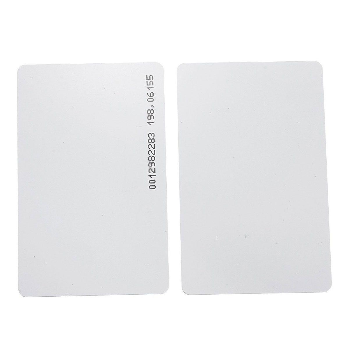 15x Cartão RFID de Proximidade 125Khz